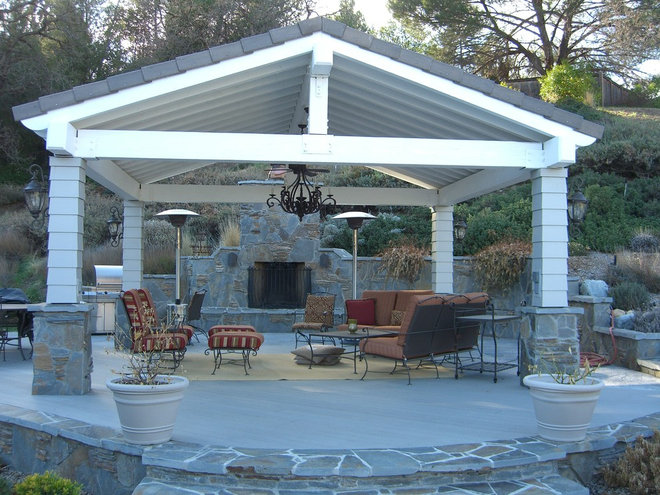 Pin Free Standing Hip Roof Patio Cover on Pinterest