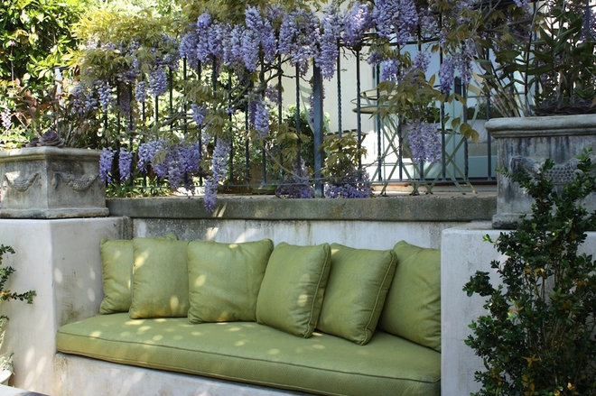 Eclectic Patio by Bliss Design Firm