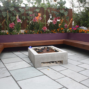 Patio Firepit Decking area