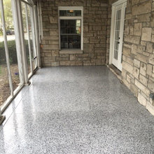 Patio Floor Covering Indianapolis By Closet Concepts