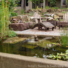 Eclectic Patio by Switzer's Nursery & Landscaping, Inc.