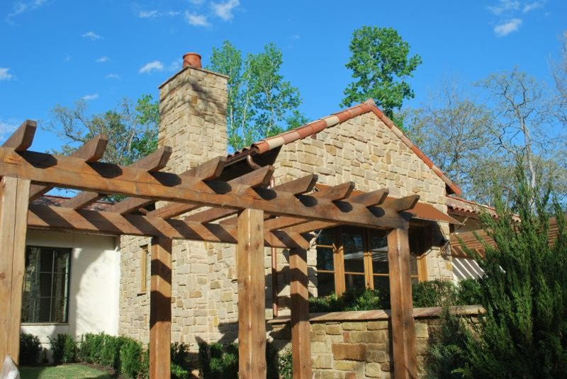 Patio Pergola Feature