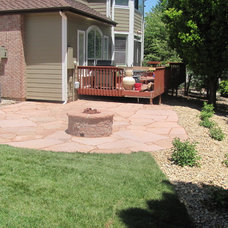 Traditional Patio by Glacier View Landscape & Design, Inc.