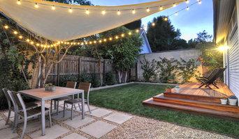 Patio, porch, sod & plantings - a backyard transformation