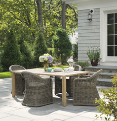 traditional patio by Rachel Reider Interiors