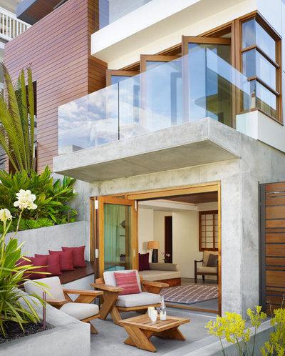 Exotique Terrasse et Patio by Rockefeller Kempel Architects
