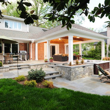 Traditional Patio by Design Builders, Inc.