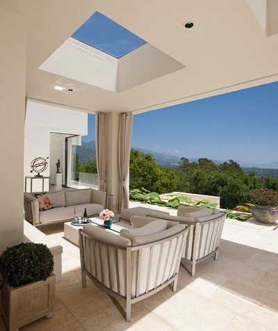 Mediterranean Patio by Spieler Construction
