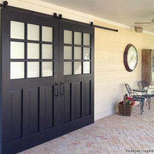 Patio sliding barn doors