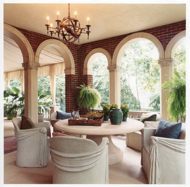 Traditional Patio by Sroka Design, Inc.