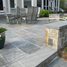 Traditional Patio by Hughes Landscaping
