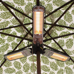 Patio Umbrella Heater - Electric patio umbrella heater.