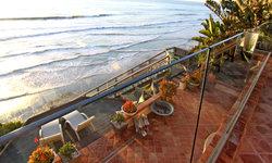 Patio with Amazing Ocean Views.