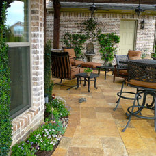 Traditional Patio by First Choice Interiors, LLC