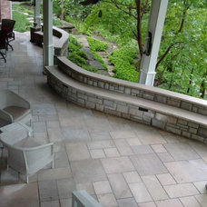 Modern Patio by Sturgis Material Inc