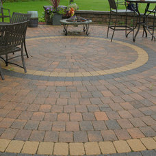 Traditional Patio by Sargent's Landscape Nursery