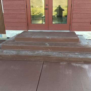 Patios & Steps Are In