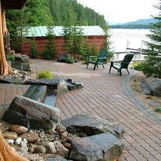 Traditional Patio by Environment West