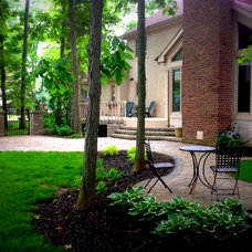 Traditional Patio by Industry's Best Landscape Services