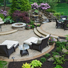 Traditional Patio by The Pattie Group Inc