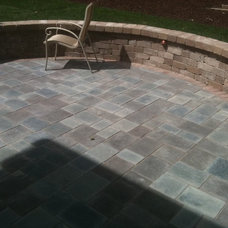 Traditional Patio by Apex Landscape and Brick Services LLC