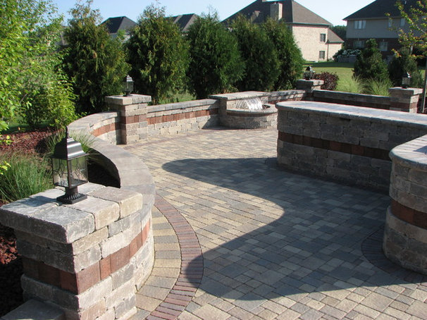 Traditional Patio by Elemental Landscapes, Ltd.