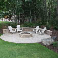 Traditional Patio by Miller Creek Lawn & Landscape
