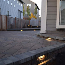 Modern Patio by Lewis Landscape Services, Inc.