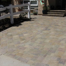 Traditional Patio by Concrete Kings