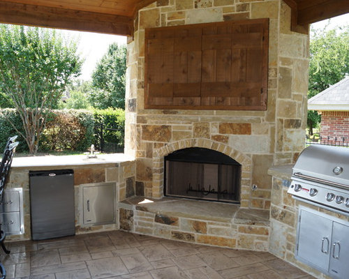 Outdoor Tv Enclosure Home Design Ideas, Pictures, Remodel and Decor