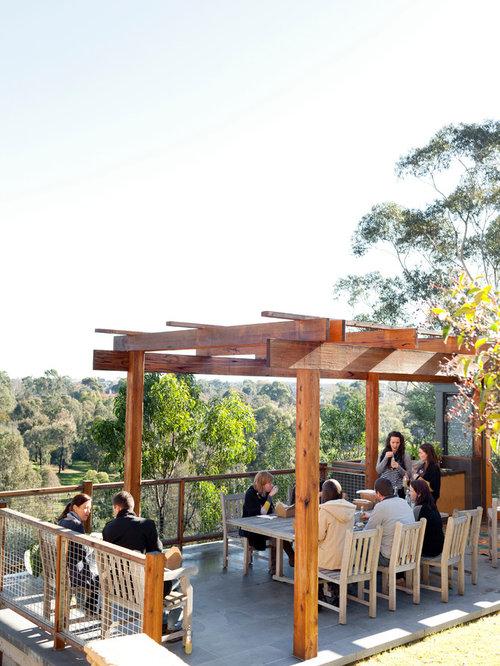Pergola terrace ideas pictures remodel and decor for Terrace pergola