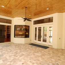 Traditional Porch by McCrea Construction