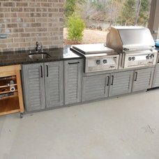 Traditional Patio by Marchand Creative Kitchens