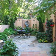 Mediterranean Patio by Anthony Brancato Landscape Contractor