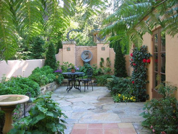 Mediterranean Patio by Anthony Brancato Landscape Contractor