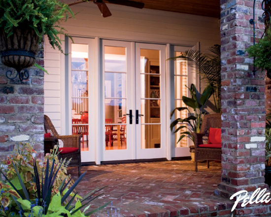 Pella French Doors pella architect series french door | houzz