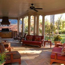 Traditional Patio by Cox Architecture and Design