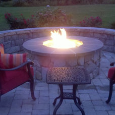 Traditional Patio by August West Chimney & Fireplace Concepts