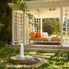 Traditional Patio by Andrew Mann Architecture