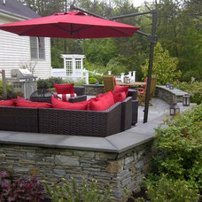 Traditional Patio by Waitkus Design
