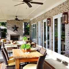 traditional patio by Sprague Construction