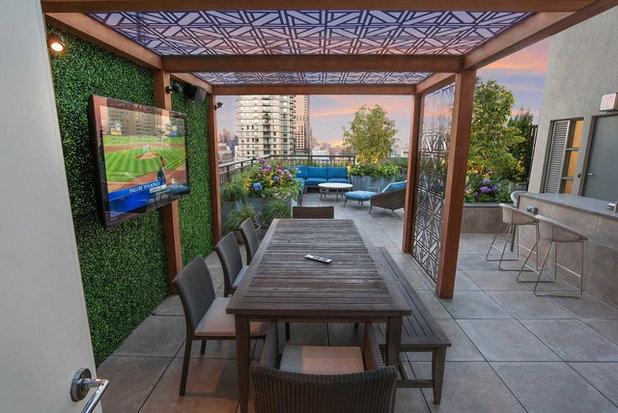 Contemporary Patio by Todd Haiman Landscape Design
