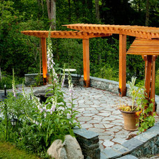 Traditional Patio by David Coulson Design Ltd.