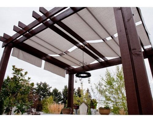 SaveEmail - Pergola Shade Design Ideas & Remodel Pictures Houzz