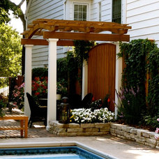 Mediterranean Gazebos by Southview Design