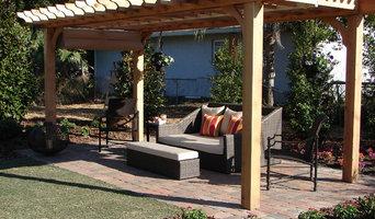 Pergola for DIY Network Outdoor Bedroom Suite