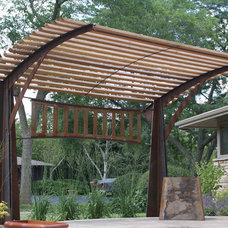 Contemporary Gazebos by New House Arts