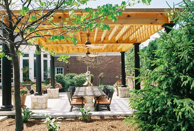 Contemporary Patio by Poynter Landscape Architecture & Construction