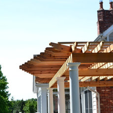Traditional Porch by Remodeling and Painting Experts Inc.