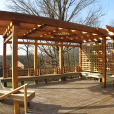 Traditional Gazebos by Sawdust Therapy